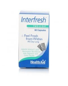 Health Aid Interfresh 60 Caps Δροσερή Αναπνοή