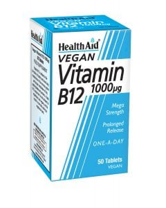 Health Aid Βιταμίνη B12 1000μg 50 Vetabs