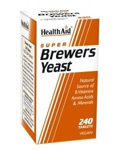 Health Aid Brewers Yeast Μαγιά 240 Tabs