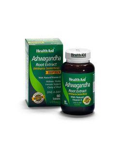 Health Aid Ashwagandha Root Extract 60 Tabs