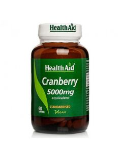Health Aid Cranberry 5000mg 60 Tabs