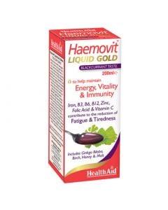 Health Aid Haemovit Liquid 200ml