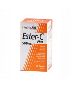 Health Aid Ester C plus 500mg 60 Tabs