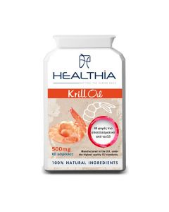 Healthia Krill Oil 500mg 60 Caps