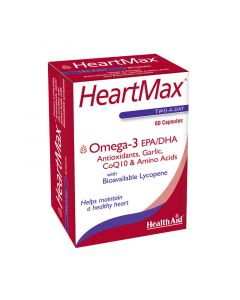 Health Aid Heartmax Δυνατή Καρδιά 60 Vecaps