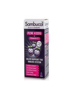Higher Nature Sambucol Black Elderberry For Kids with Vitamin C 120ml