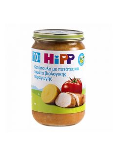 Hipp Chicken, Potatoes, Tomatoes 220gr