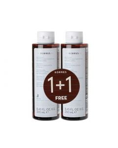 Korres Shampoo Liquorice and Urtica 2 x 250ml