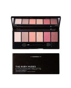 Korres Eyeshadow Palette The Ruby Nudes 6gr