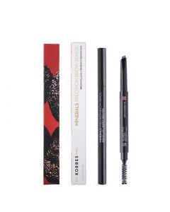 Korres Minerals Precision Brow Pencil 01 Dark Shade 0.2gr