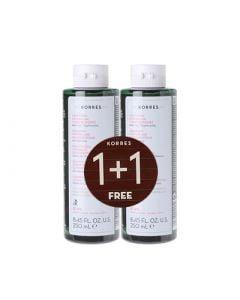 Korres shampoo for Women's Hair Loss 2 x 250ml