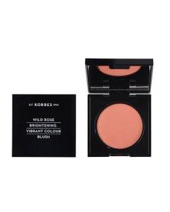 Korres Wild Rose Vibrant Colour Blush 5.5gr 18 Peach