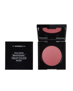 Korres Wild Rose Vibrant Colour Blush 5.5gr 24 Dusty Rose