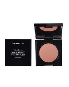 Korres Wild Rose Vibrant Colour Blush 5.5gr 31 Light Bronze