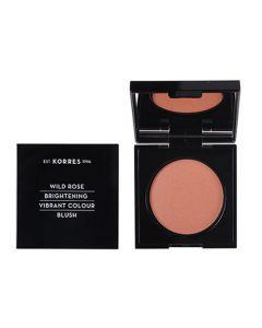 Korres Wild Rose Vibrant Colour Blush 5.5gr 42 Luminous Apricot