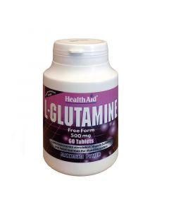 Health Aid L-Glutamine 60 Tabs Γλουταμίνη