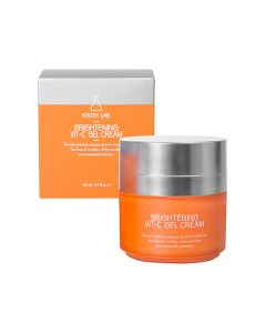 Youth Lab Brightening Vit-C Gel Cream 50 ml Mη Λιπαρό, Ενυδατικό Κρεμοτζέλ με Βιταμίνη C