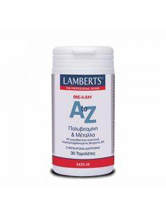 Lamberts A-Z Multivitamins 30 Tabs