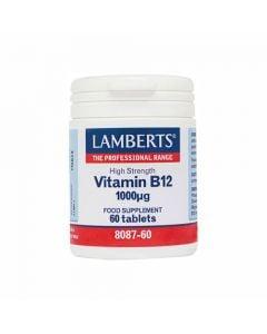 Lamberts B 12 1000mcg 60 Tabs