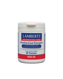 Lamberts Choline Liver Complex 60 Tabs