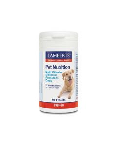 Lamberts Pet Nutrition Multi-Vitamin & Mineral Formula for Dogs 90 Tabs