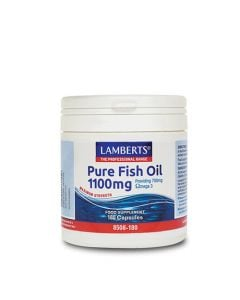 BestPharmacy.gr - Photo of Lamberts Pure Fish Oil 1100mg 120 Caps