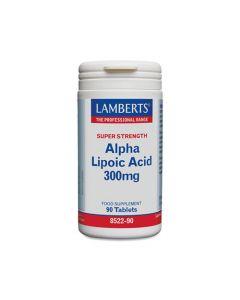 Lamberts Alpha Lipoic Acid 300mg 90 Tabs