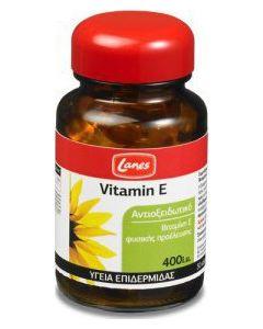 Lanes Vitamin E 400iu 30 Caps Αντιοξειδωτικό