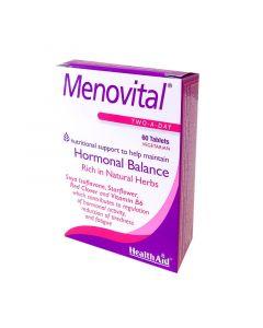 Health Aid Menovital Menopause 60 Tabs Εμμηνόπαυση