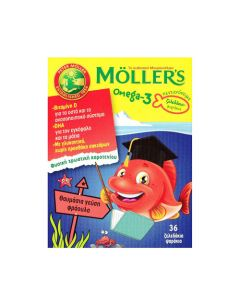 Nature's Plus Moller's Omega-3 Kids 36 Strawberry