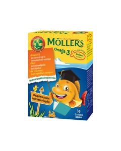Nature's Plus Moller's Omega-3 Kids 36