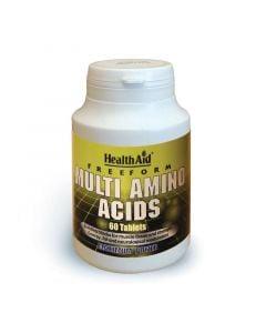 Health Aid Multi Amino Acids 60 Tabs Αμινοξέα
