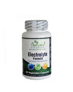Natural Vitamins Electrolyte Formula 50 Caps