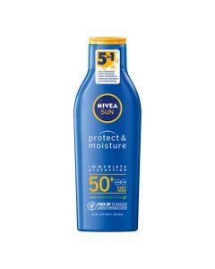 Nivea Sun Protect & Moisture Lotion SPF50+ 200ml