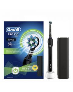 Oral-B Pro 750 3D CrossAction Black Edition