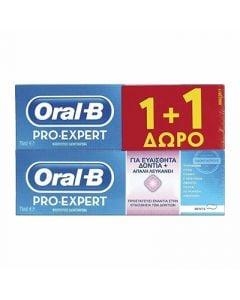 Oral-B Pro Expert Sensitive & Whitening 2 x 75ml