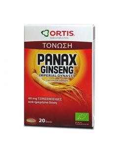 Ortis Panax Ginseng Bio 20 Tabs