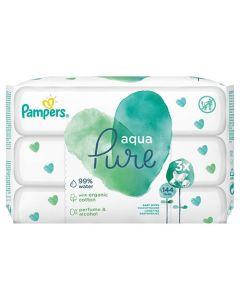 Pampers Aqua Pure Wipes 3 x 48