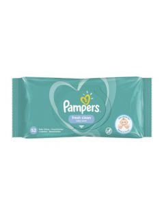 Pampers Baby Wipes Fresh Clean 52