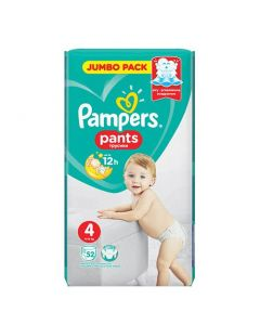 Pampers Pants Maxi No4 (9 - 15kg) 52