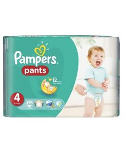 Pampers Pants Maxi No4 (9 - 14kg) 30