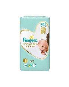 Pampers Premium Care Newborn No1 (2 - 5kg) 52