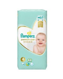 Pampers Premium Care Maxi No4 (9 - 14kg) 52