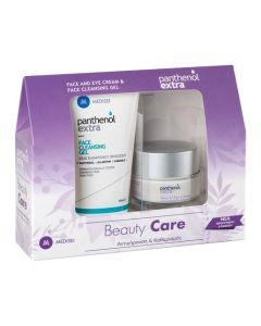 Panthenol Extra Face and Eye Cream 50ml + Cleansing Gel 150ml
