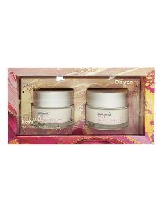Panthenol Extra Daycare Rules Day Cream SPF15 2 x 50ml Ενυδατική Κρέμα Ημέρας με Υαλουρονικό Οξύ