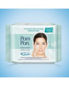 Pom Pon Sensitive Skin Cleansing Wipes 20 Items