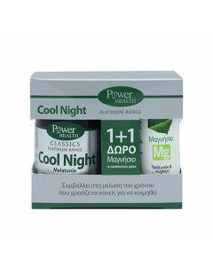 Power Health Classics Platinum Range Cool Night 30 Caps + Magnesium 10