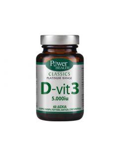 Power Health Classics Platinum D - Vit 3 5000iu 60 Caps