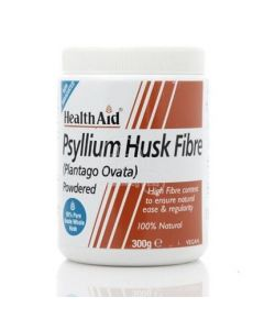 Health Aid Psyllium Husk Σκόνη 300gr Υπακτικό