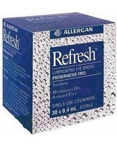 Refresh Classic 30 Περιέκτες x 0.4ml Οφθαλμικές Σταγόνες για την Ξηρότητα